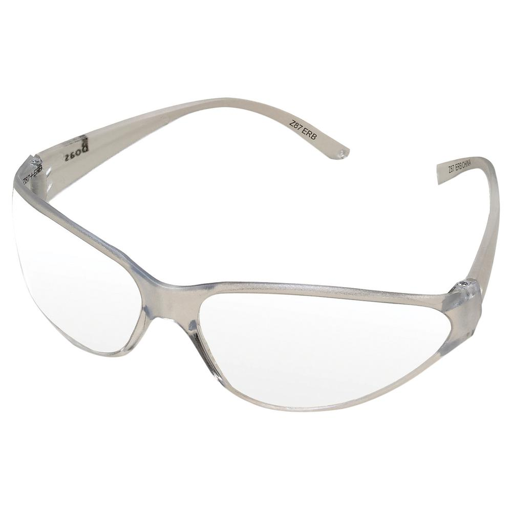 Boas Original Eye Protection Clear/Clear Temple/Frame and Clear Lens