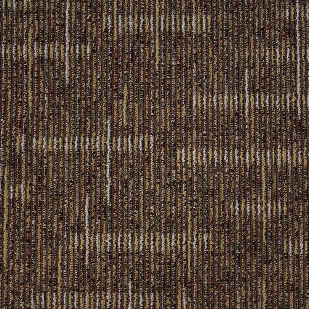 TrafficMASTER Simply Comfort Haystacks Loop 19.7 in. x 19.7 in. Carpet Tile (20 Tiles/Case)