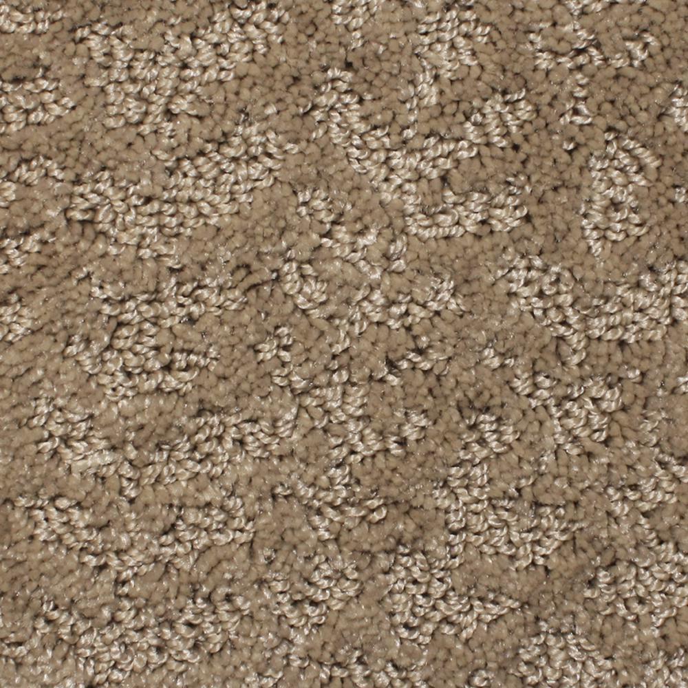 Carpet Sample - Meteoric - Color Raffia Pattern 8 in. x 8 in.