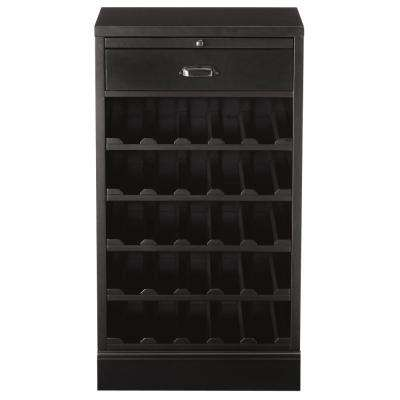 Quentin Black Bar Cabinet