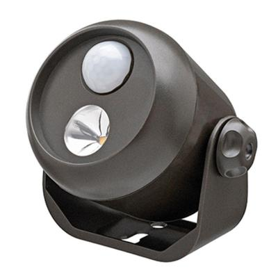 Wireless Motion Activated Integrated LED Mini Spotlight, Brown