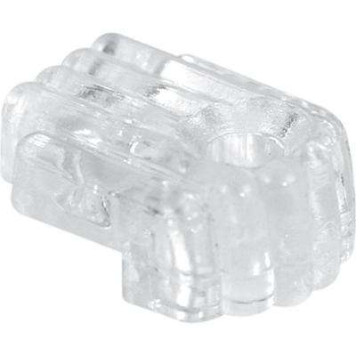 1/8 in. Glass Standard Mirror Clip with Screw and Anchor