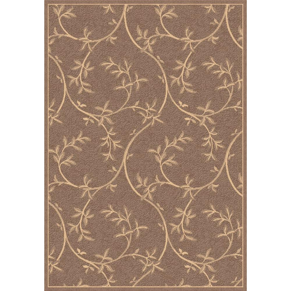home depot outdoor rugs dynamic rugs piazza brown 8 ft x 11 ft indoor outdoor 28790