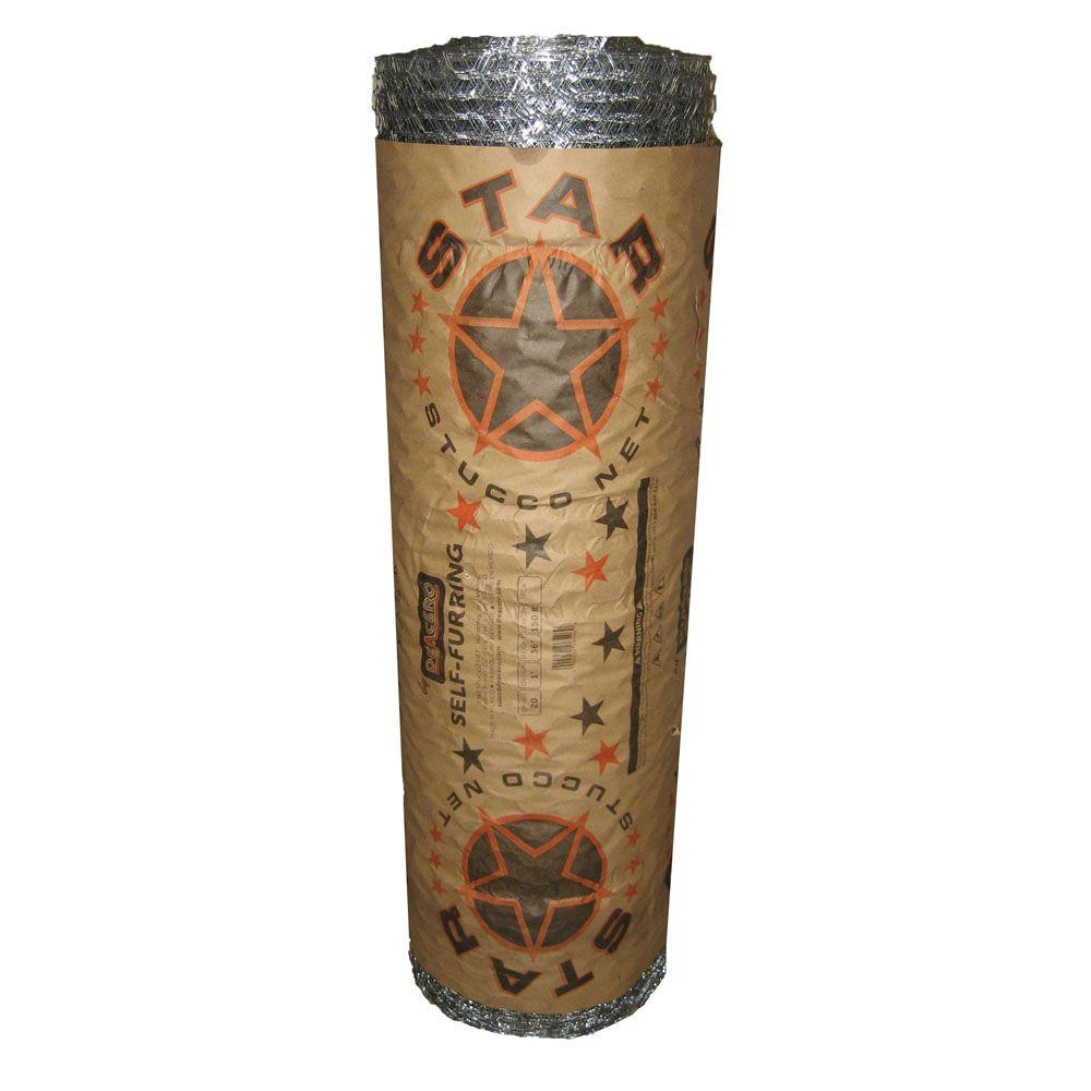 1 in. x 36 in. x 150 ft. 20-Gauge Galvanized Stucco