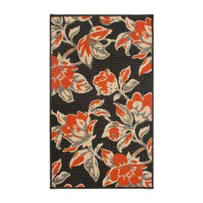Carlisle 60 in. x 96 in. Indoor/Outdoor Accent Rug in Orange