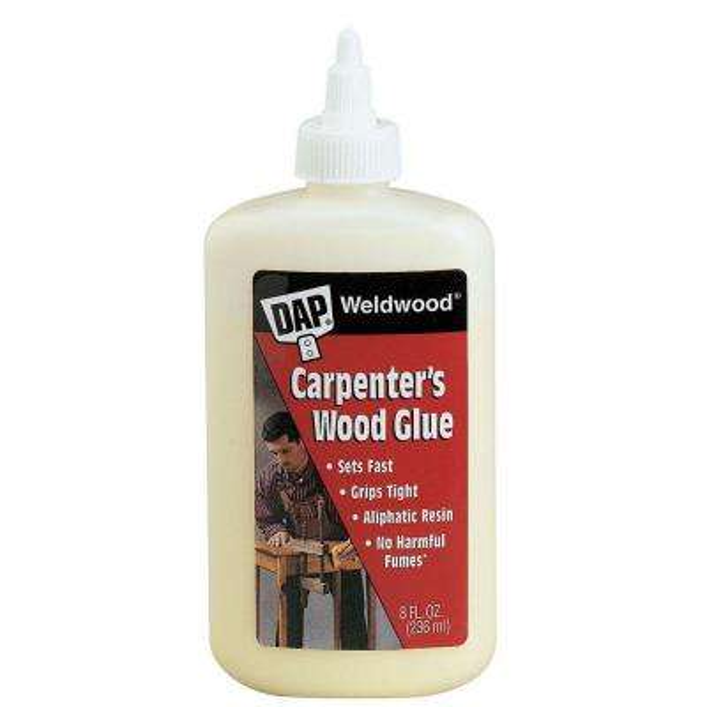 8 oz. Weldwood Carpenter's Wood Glue (24-Pack)