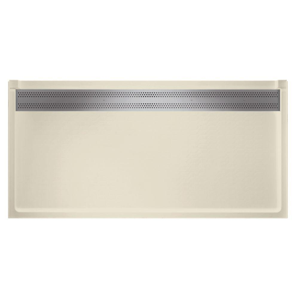 Barrier Free 34 in. x 64 in. Trough Drain Single Threshold