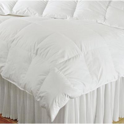 Luxury Year Round Warmth White Queen Down Comforter