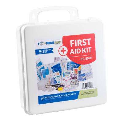 237-Piece 50-Person OSHA Poly First Aid Kit