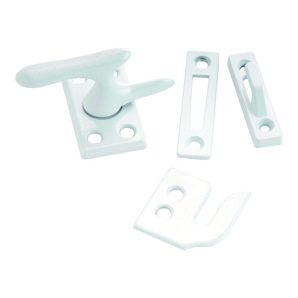White Casement Window Fastener