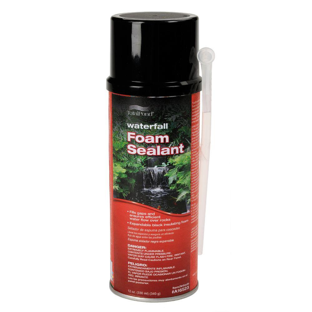 Total Pond Waterfall Foam Sealant A16523 The Home Depot