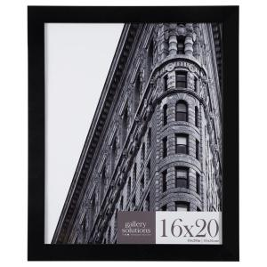 Pinnacle 16 inch x 20 inch Black Flat Picture Frame by Pinnacle
