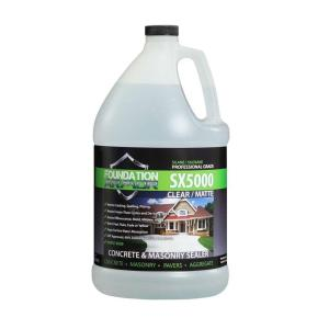 Foundation Armor 1 gal. Penetrating Solvent Based Silane Siloxane Concrete Sealer and... by Foundation Armor