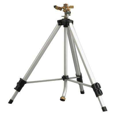 Deluxe Metal Pulsating Sprinkler with Tripod
