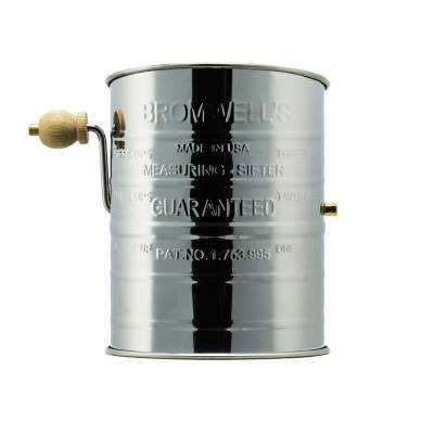 All-American Stainless Steel 3-Cup Flour Sifter