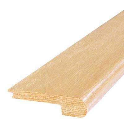 Maple Natural 2 in. Wide x 84 in. Length Stair Nose Molding