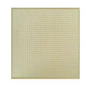 M D Building Products 36 In X 36 In Lincane Aluminum