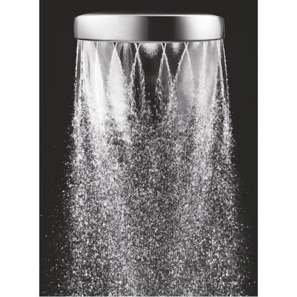 Methven - Aio 1-Spray 6 in. Single Wall Mount Handheld Shower Head in Chrome