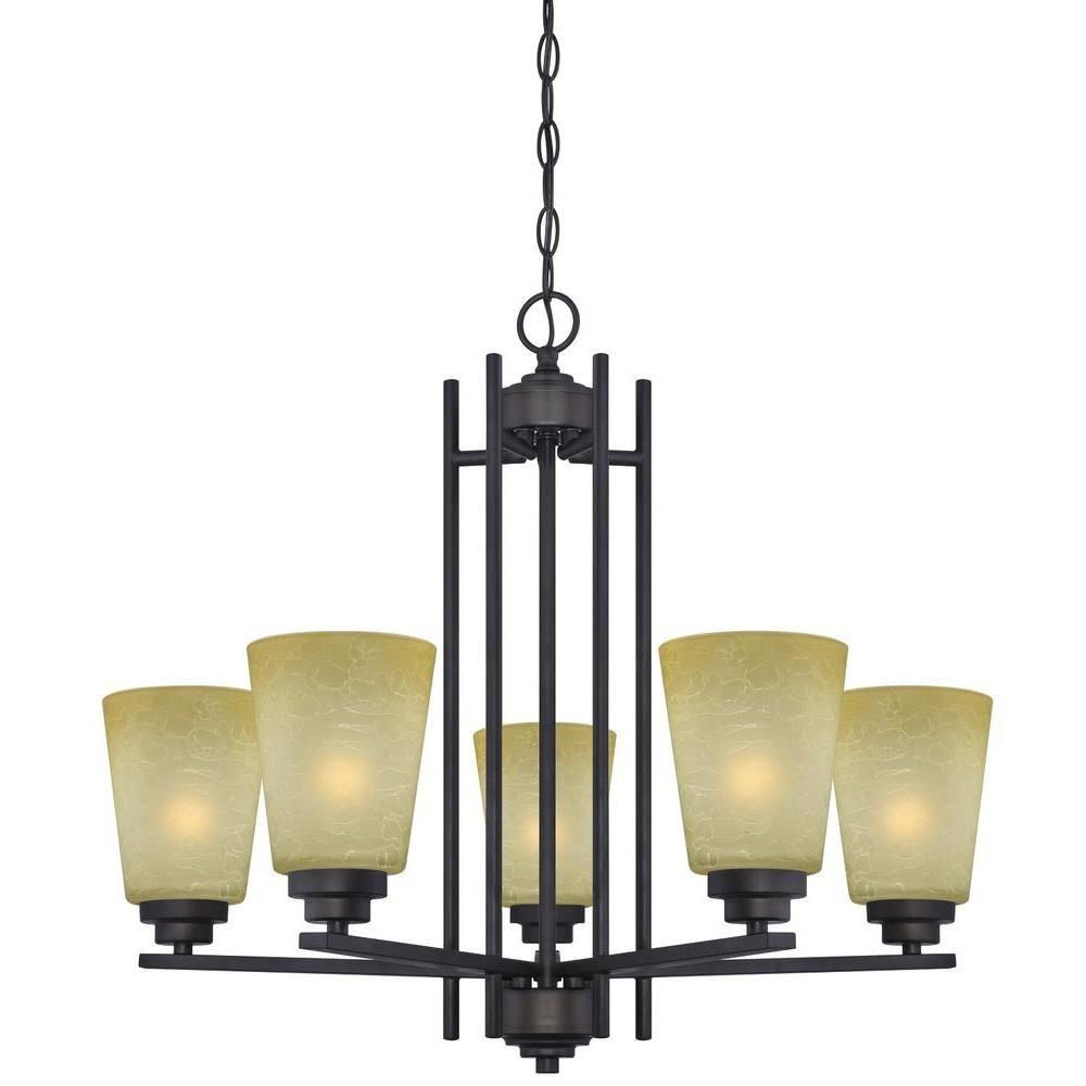 Westinghouse Ewing 5 Light Oil Rubbed Bronze Chandelier