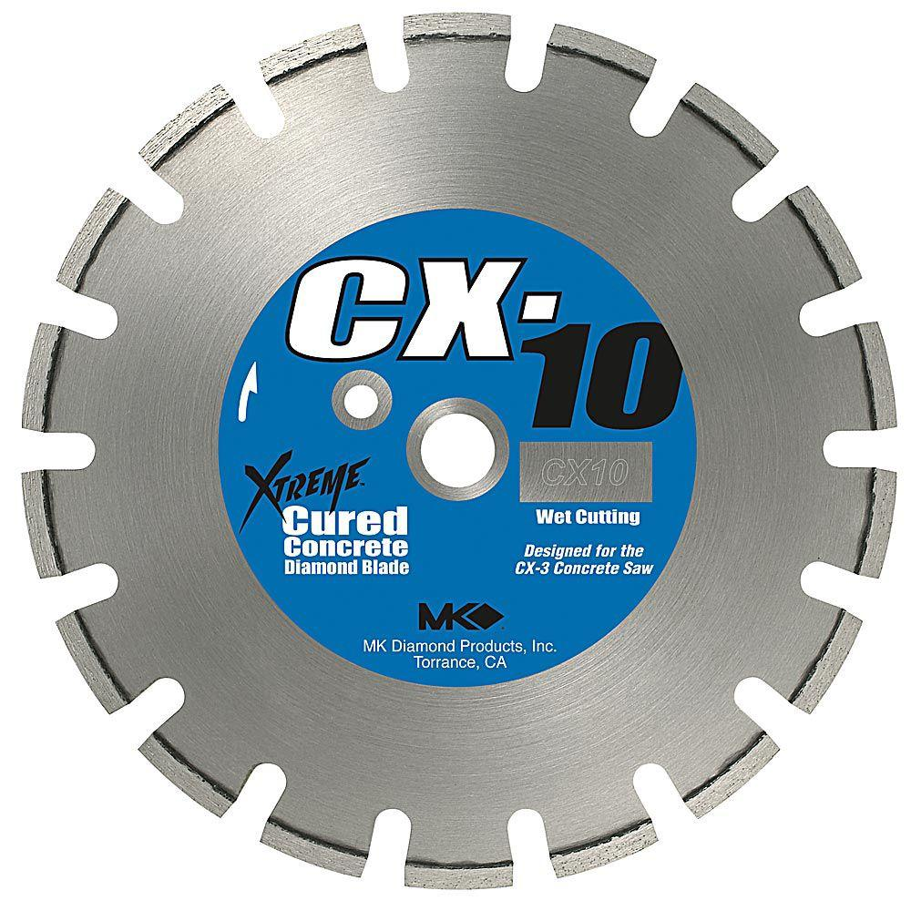 MK Diamond CX-10 14 in. Wet Cutting Diamond Saw Blade for Cured Concrete