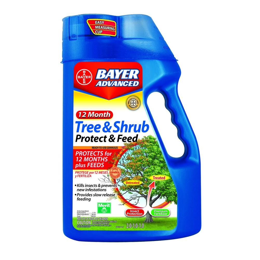 4 lb. Tree and Shrub Protect and Feed Granules