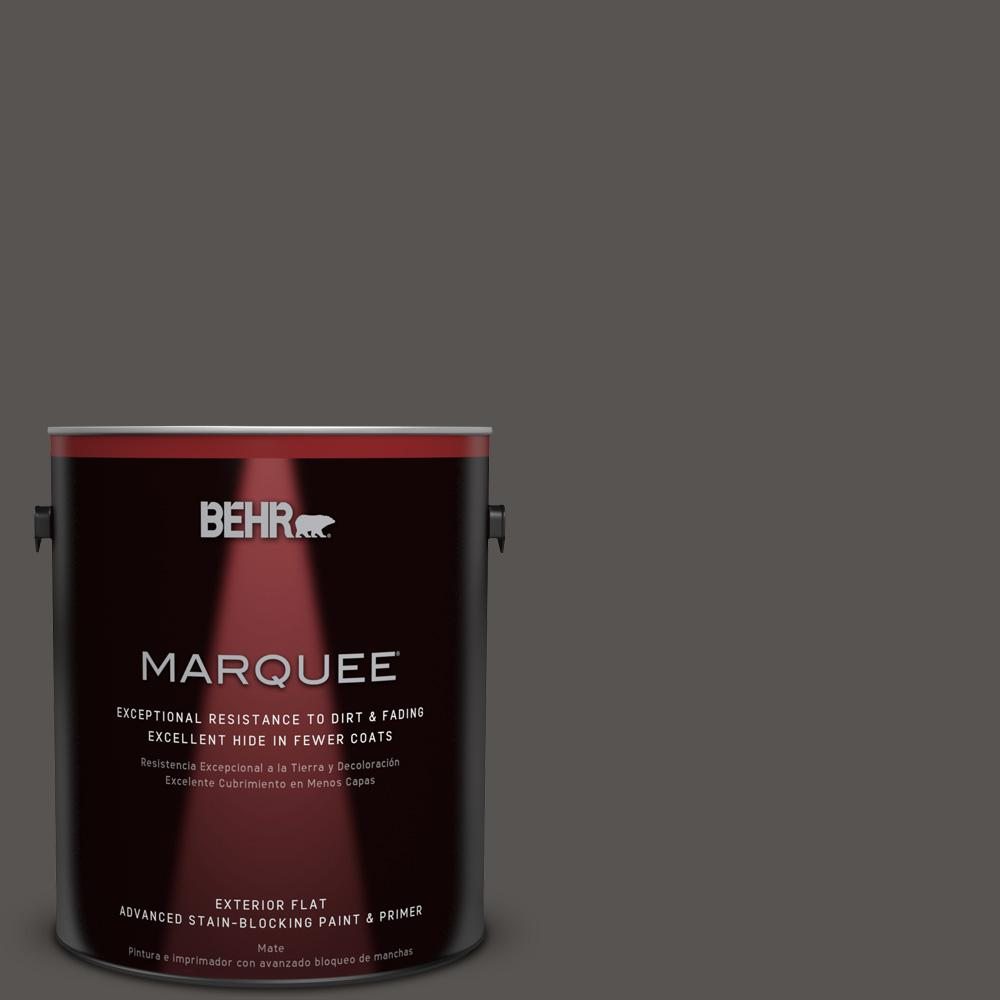 1 gal. #HDC-CL-24G Equestrian Leather Flat Exterior Paint