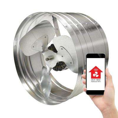 1450 CFM Smart Power Gable Mount Attic Fan