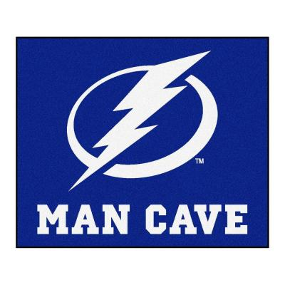 Tampa Bay Lightning Blue Man Cave 5 ft. x 6 ft. Area Rug