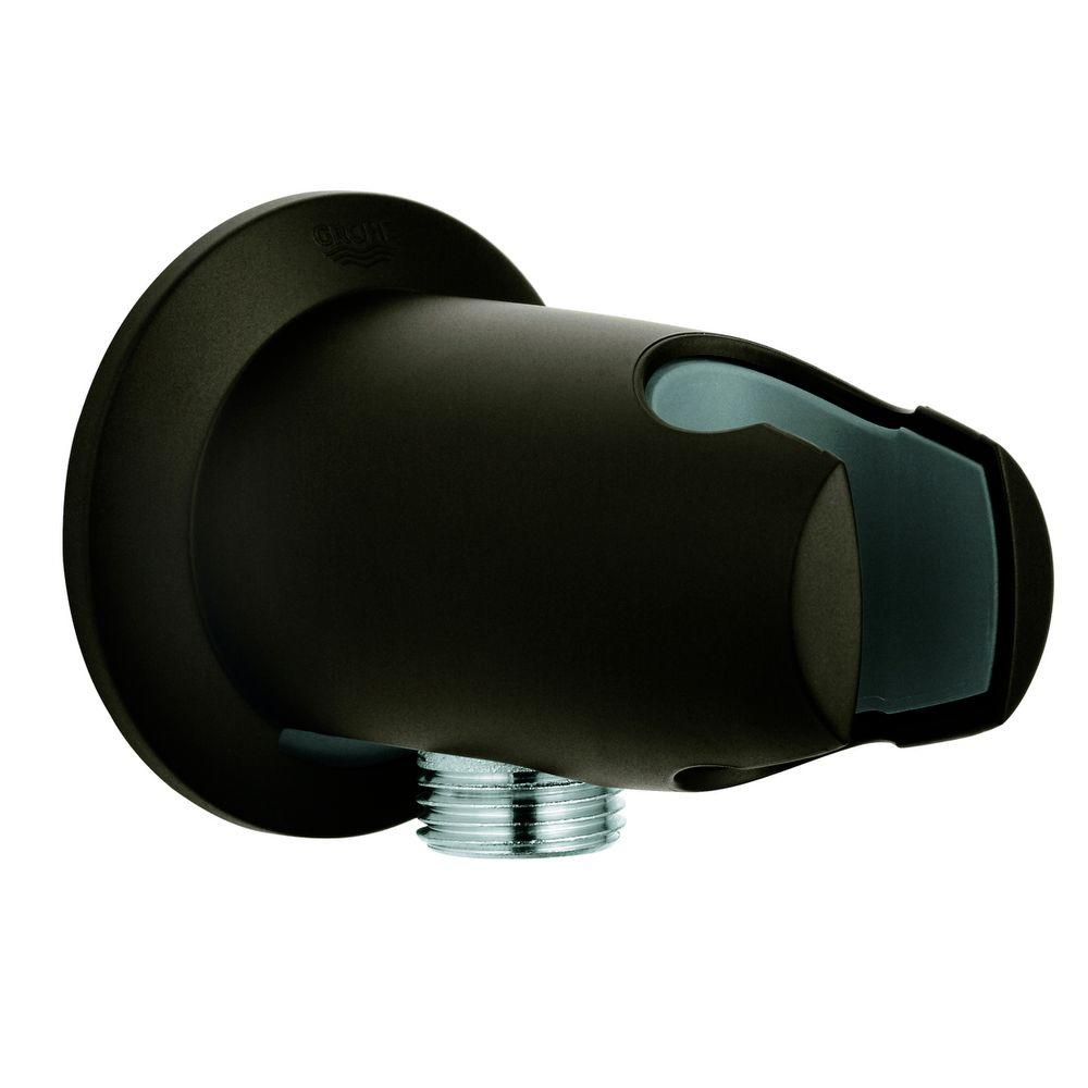 GROHE Movario Wall Union in Oil-Rubbed Bronze for Grohe Shower Hoses ...