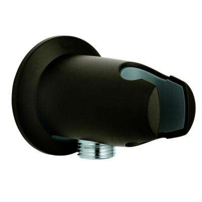 Movario Wall Union in Oil-Rubbed Bronze for Grohe Shower Hoses