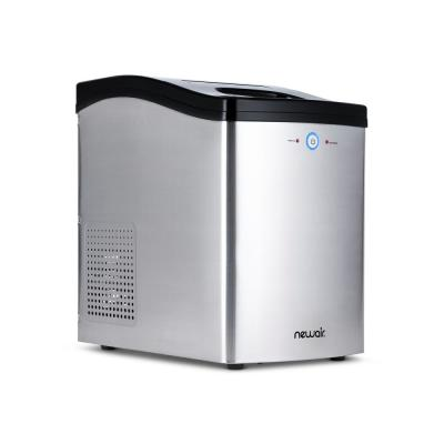 Countertop Nugget Ice Maker, 40 lbs. of Ice a Day with Melt-Resistant Interior and BPA-Free Parts
