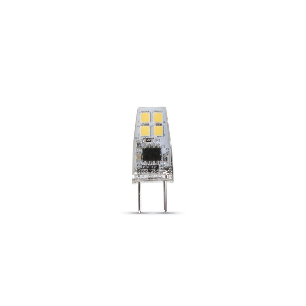 Feit Electric 20-Watt Equivalent Bright White (3000K) T4 G8 Bi-Pin Base LED Light Bulb