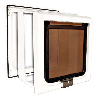 7.5 in. x 7.75 in. Extra-Large 4-Way Cat Door
