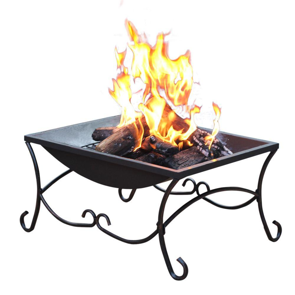 Jeco 27 in. Sturdy Steel Construction Classic Fire Pit