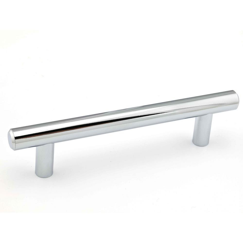 Richelieu Hardware 4 1 In 108 Mm Center To Chrome Steel Contemporary Drawer Pull