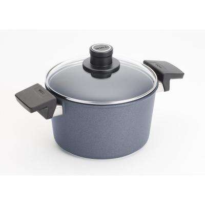 Induction 3.2 Qt. Non-stick Covered Stockpot in Cast Aluminum