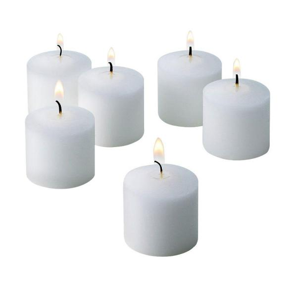 10 Hour White Jasmine Scented Votive Candle (Set of 72)