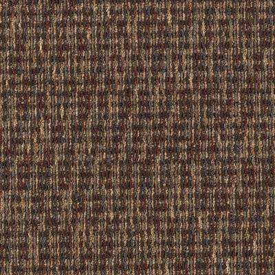 Carpet Sample - Social Network III - Color Pewter 8 in. x 8 in.