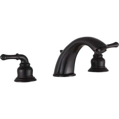 Prince 8 in. Widespread 2-Handle Bathroom Faucet in Oil Rubbed Bronze