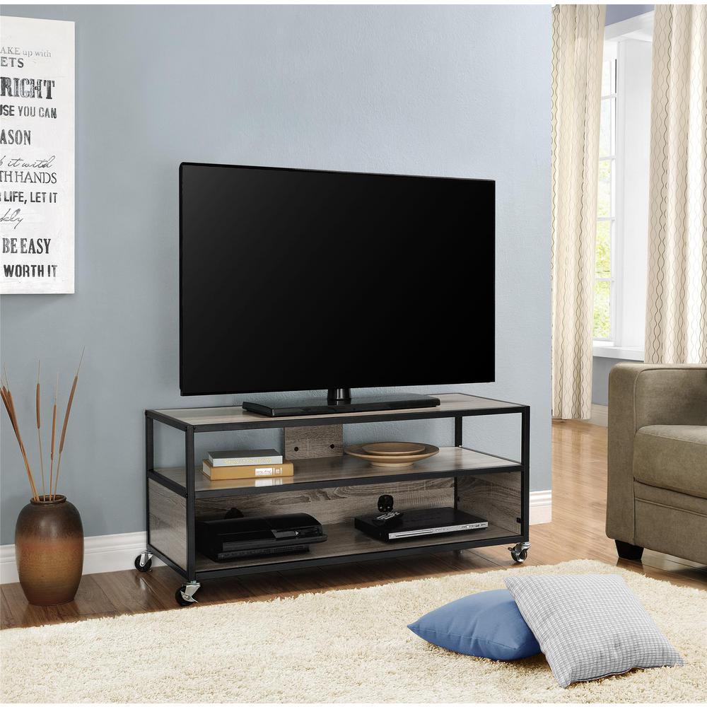 Altra Furniture Mason Ridge Black Entertainment Center