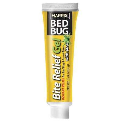 1 oz. 4% Lidocaine Bed Bug Bite Relief Gel with Aloe Instant Relief for Pain and Itching