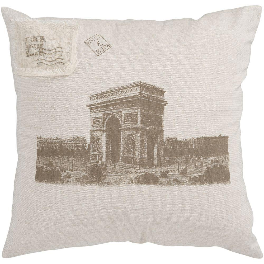 Artistic Weavers ArcDeTriomphe 18 in. x 18 in. Decorative Down Pillow-DISCONTINUED