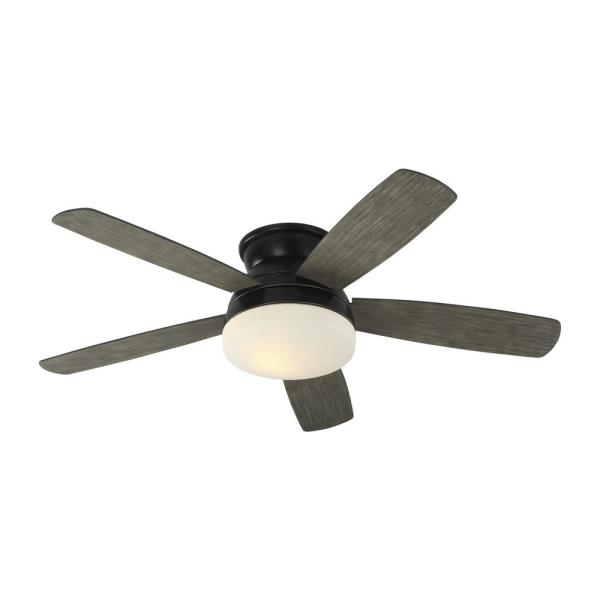 Traverse 52 in. Indoor Aged Pewter Ceiling Fan with Light Kit