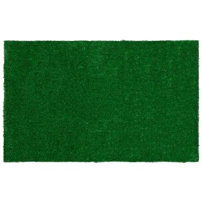 Garden Grass Collection 2 ft. x 3 ft. Green Artificial Grass Doormat