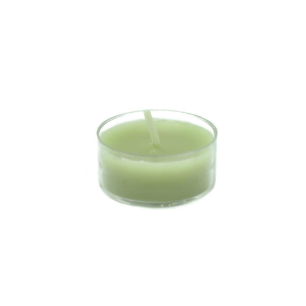 1.5 in. Sage Green Tealight Candles (50-Pack)