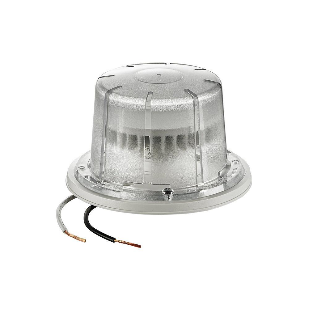 10-Watt LED Ceiling Keyless Lamp Holder, White