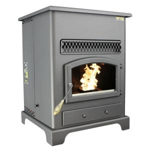 US Stove 2200 sq. ft. Golden Eagle Pellet Stove with Igniter by US Stove