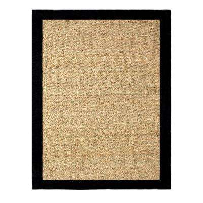 Seagrass Black 5 ft. x 7 ft. Indoor Area Rug