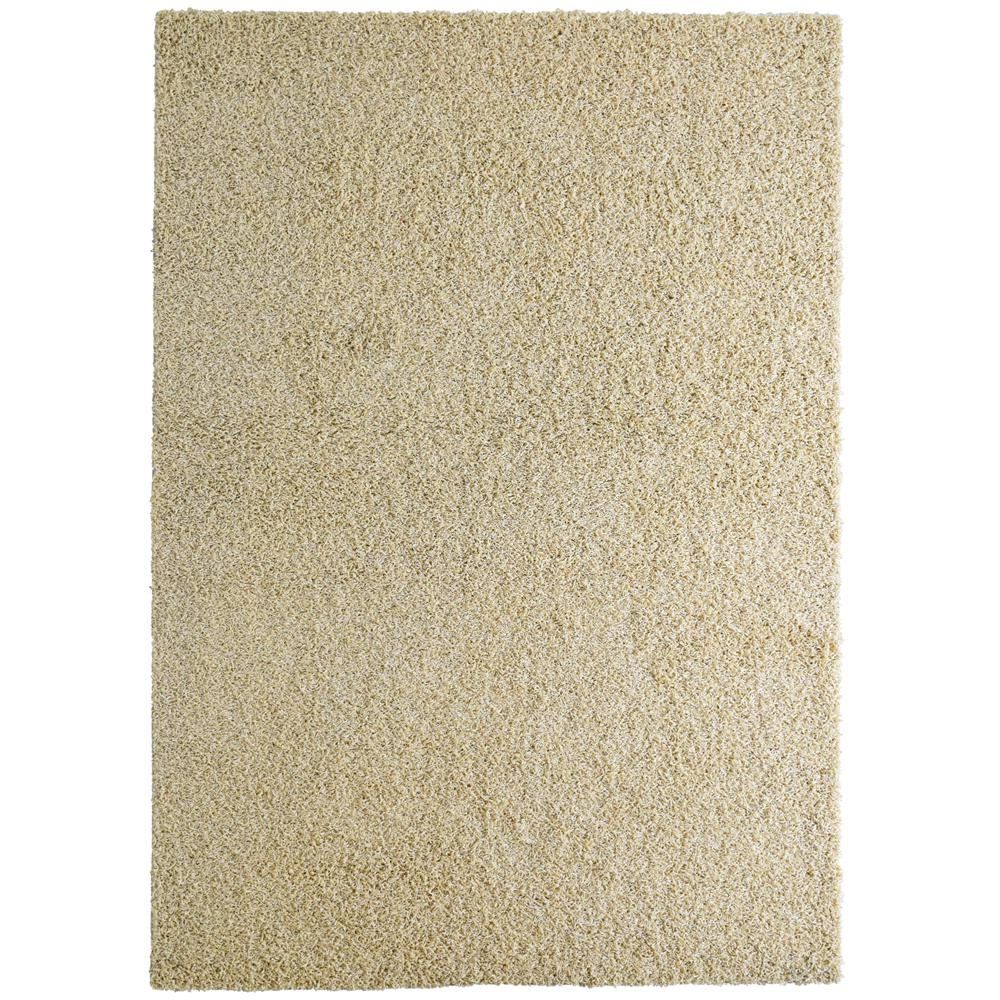 Custom Shag Ivory 6 ft. x 8 ft. Indoor Area Rug