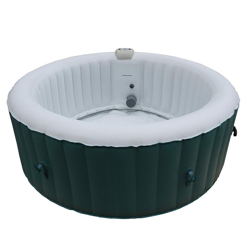 ALEKO 4-Person 130-Jet Inflatable Hot Tub
